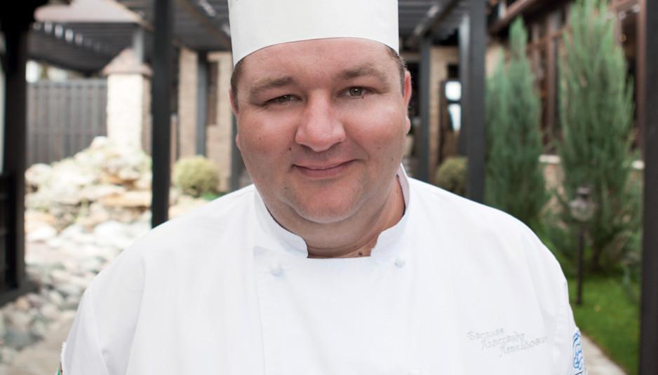 Шеф-повар Александр Баканёв